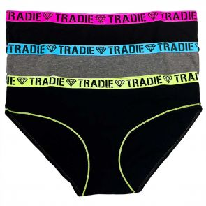 Tradie Lady Curve 3PK Bikini WJ3304SB3 Core