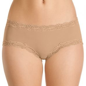 Berlei Barely There Luxe Mid Rise Brief WU596T Cafe Mocha