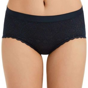 Berlei Barely There Lace Full Brief WVFB Navy