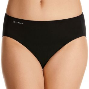 Jockey No Panty Line Promise Tactel Hi-Cut Brief WWK8 Black