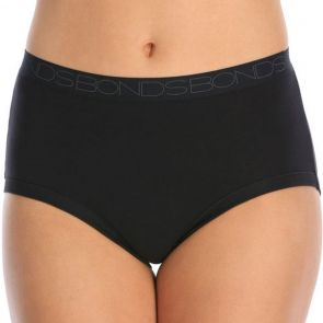 Bonds Cottontails Full Brief 3PK WY5NA Black