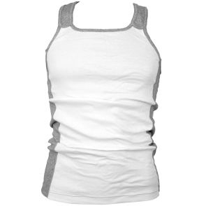 2XIST One Racer Back Tank XIST3918 White