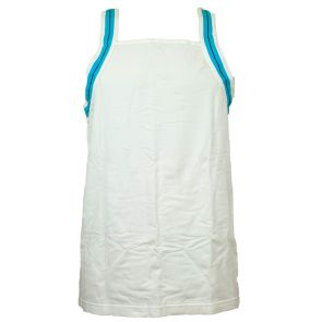 2XIST Track Square Cut Tank XIST6127 White