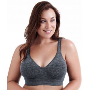 Playtex Comfort Flex Fit Wirefree Y1239H Gravel Grey Heather