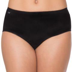 Sloggi Hipster 2-Pack 10183468 Black Womens Underwear