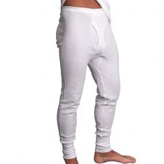 Holeproof Aircel Thermal Long John MYPY1A White Mens Clothing