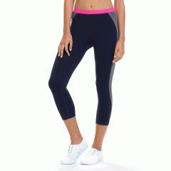 Ambra Active EcoActive Bamboo 3/4 Sport Legging AMACTSP34 Indigo Mix Womens Activewear