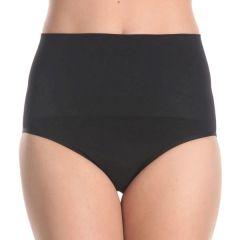 Ambra Anti-Cellulite Hi-Cut Brief AMSHHRB Black Womens Underwear