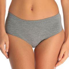 mbra Microfibre Seamless Singles Midi AMSSMID Grey Marle Womens Underwear