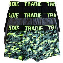 Tradie Boys 3PK Trunk BJ3258SK3 Camo Boys Underwear