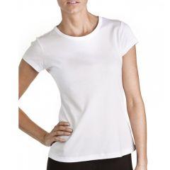Bonds Classic Crew Tee C0B95 White Womens T-Shirt