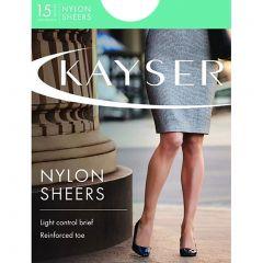 Kayser Sheer Nylon Sheers H10610 Slate Womens Hosiery