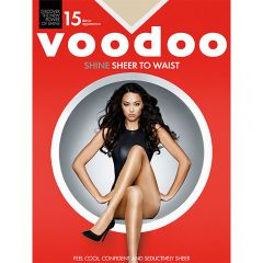 Voodoo Shine Sheer to Waist Sheers H30450 Brazillian Womens Hosiery