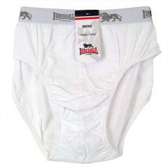 Lonsdale Hipster Brief LA2540U White Mens Underwear
