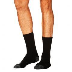 Tradie 2-Pack Wool Blend Work Socks M22546BW Black