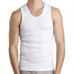 Bonds Chesty Singlet 2-Pack M7WL White Mens Singlet