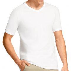 Bonds V-Neck Raglan T-Shirt M976 White Mens Tops