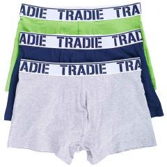 Tradie 3 Pack Fitted Trunks MJ1194WK3 Nightlife Mens Underwear