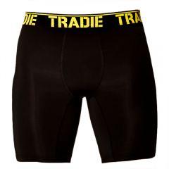 Tradie Long Leg Trunk MJ1456SK Black Mens Underwear