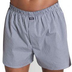 Jockey Woven Cotton Short MXLQ1A Tonal Blue Mens Underwear