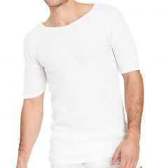 Holeproof Aircel Round Neck Thermal Short Sleeve Tee MYQ31A White