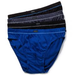Holeproof Cotton Tunnel Briefs 4PK MZHU4A Multi Mens Underwear