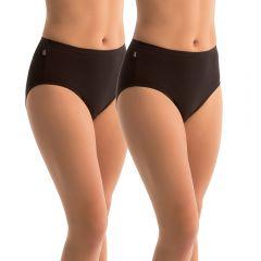 Sloggi Hikini 2 Pack 10054777 Black Womens Underwear