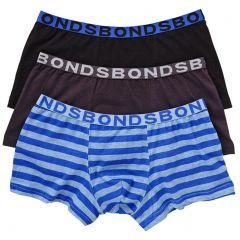 Bonds Boys Trunk 3-Pack UZXJ3 Multi Boys Short