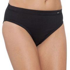 Bonds Cottontails With Extra Lycra Hi-Cut Brief W0M13H Black Womens Underwear