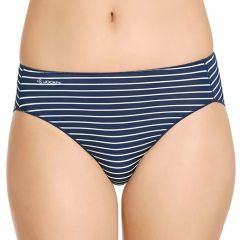 Jockey No Panty Line Promise Hi Cut W2403P Midas Stripe Womens Underwear