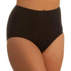 Jockey No Ride Up Micro Full Brief WWL8 Black Womens Underwear