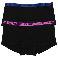 Tradie Lady 2 Pack Shortie WJ2096SL2 Focus Womens Underwear