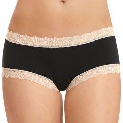 Jockey Parisienne Vintage Modal Boyleg Brief WWKY Black Womens Underwear