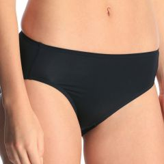 Jockey No Ride Up Micro Hi-Cut Brief WWL9 Black Womens Underwear