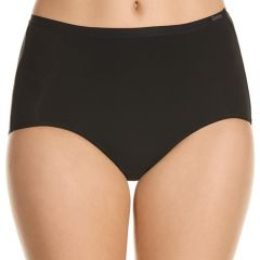 Berlei Nothing Naturals Full Brief WZCX1A Black Womens Underwear