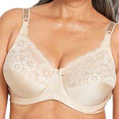 Berlei Curves Classic Lace Underwire Bra Y5568B Praline Womens Lingerie