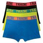 Tradie 3 Pack Fitted Trunks MJ1194WK3 Dynamite Mens Underwear