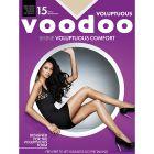 Voodoo Voluptuous Shine Sheers H30560 Black Magic Womens Hosiery