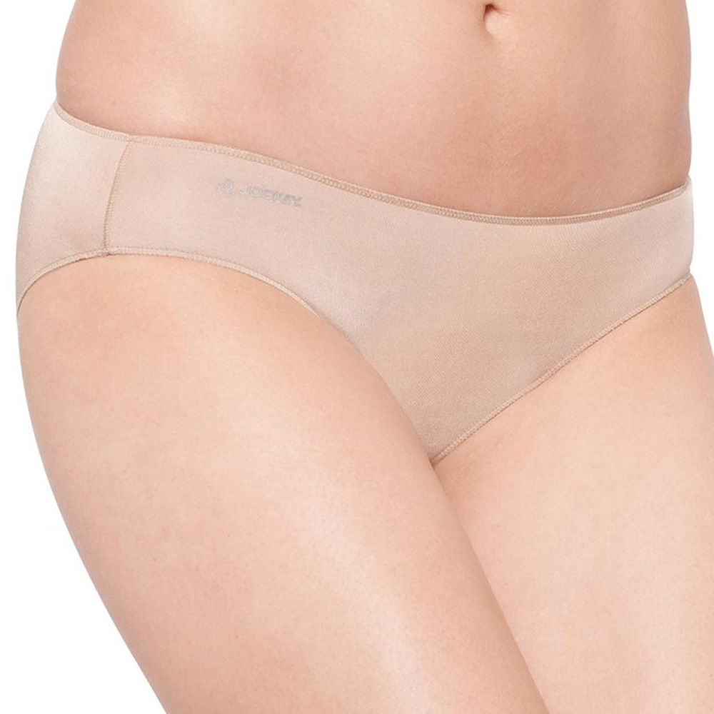 Jockey No Panty Line Promise Tactel Bikini Brief W8681d Flesh Ebay