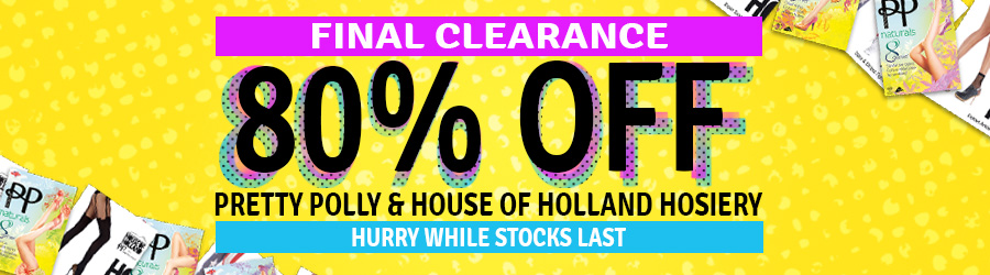 Click for 80% Off Pretty Polly Hosiery