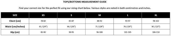 Bendon Dress Size Chart