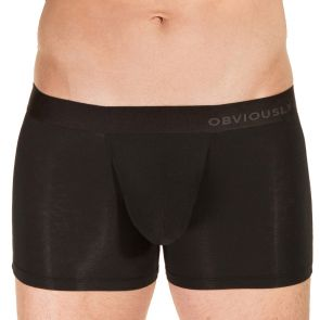 Obviously PrimeMan Boxer Brief 3 Inch Leg A00 Black