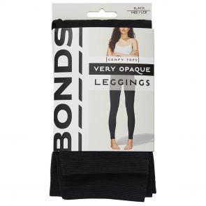 Bonds 120D Opaque Leggings L79564 Black Multi-Buy