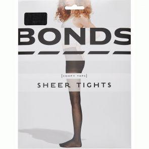 Bonds 15D Sheer Tights L79571 Black Multi-Buy