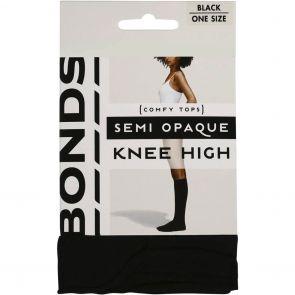 Bonds 40D Opaque Knee-Hi L79582 Black Multi-Buy