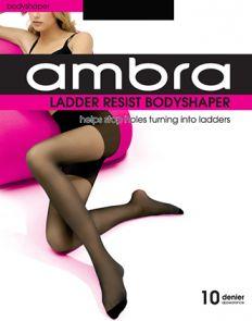 Ambra Ladder Resist Bodyshaper Tights AMLRBSH Black Multi-Buy