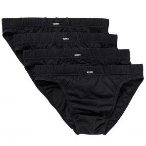 Bonds Action Hipster Brief 4 Pack M8OS4 Black