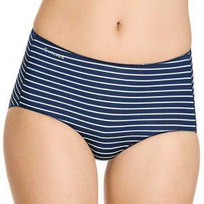 Jockey No Panty Line Promise Hi Cut W3401P Midas Stripe