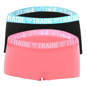 Tradie Lady 2 Pack Shortie WJ2096SL2 Electric