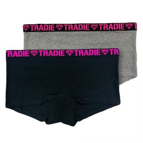Tradie Lady 2 Pack Shortie WJ2096SL2 Core Pack